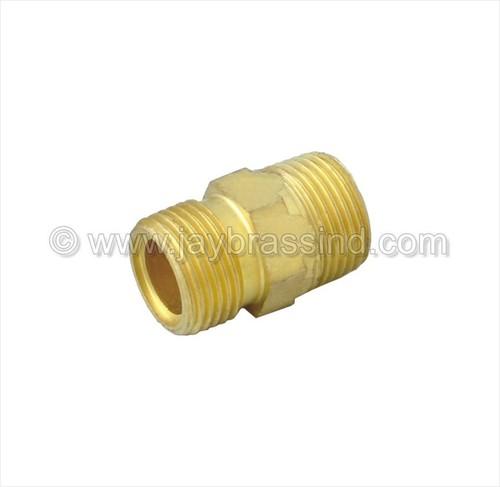 Brass Straight Connector