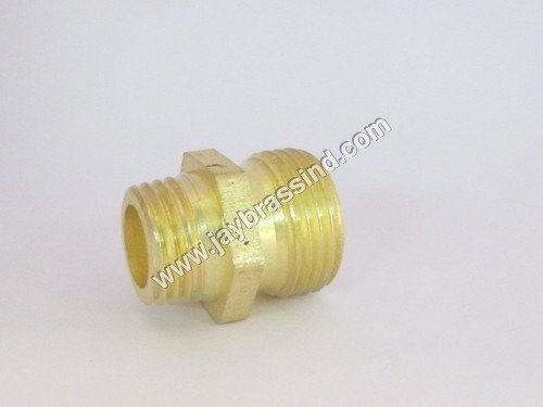 Brass Straight Adaptor