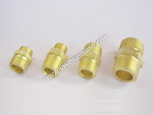 Brass High Pressure Straight Joint
