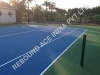 Synthetic Lawn Tennis Court