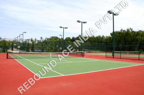 Synthetic Grass Lawn Tennis Court