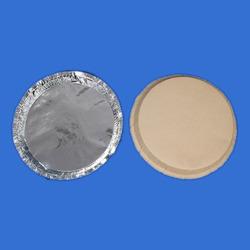 Silver Foil Laminated Buffet Plates