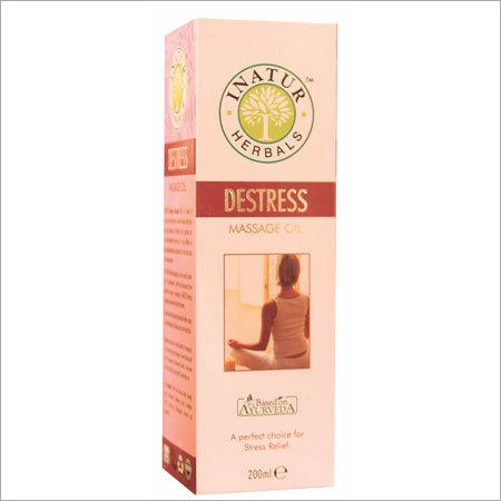 Destress Massage Oil