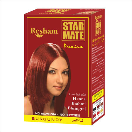Star Mate Burgundy Hair Color