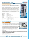 Double Platform Orbital Incubator Shaker