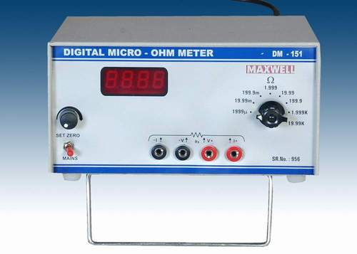 Digital Micro Ohm Meter