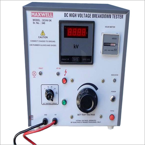 DC High Voltage Breakdown Tester
