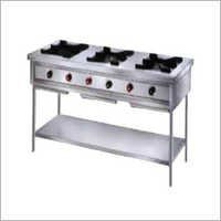 Commercial 3 Burner Gas Stove