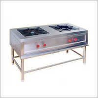 2 Burner Commercial Gas Range