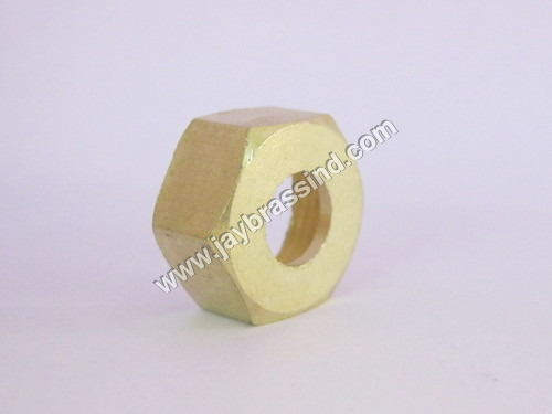 Brass LPG Sprindle Nut