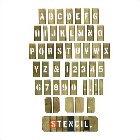 Brass Stencils