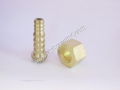 Brass Nut & Nozzle