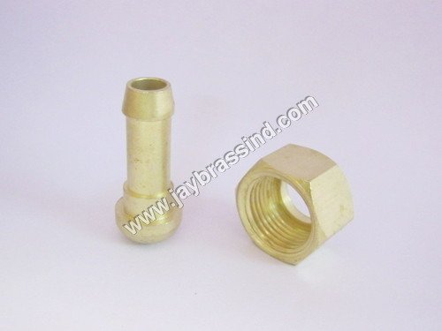 Brass Nut & Nozzle