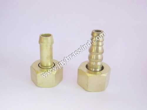 Brass Nut and Nozzle