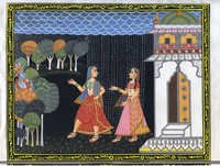 Radha  meet Krishna