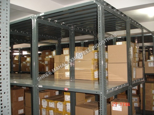Stainless Steel Slotted Angle Rack