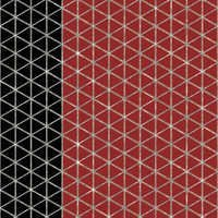 BLACK N RED TILES WALLPAPER