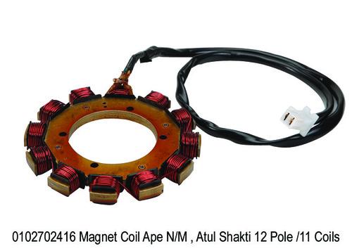 Magnet Coil Ape, Atul Shakti 12