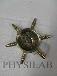Nautical Ship Wheel Compass