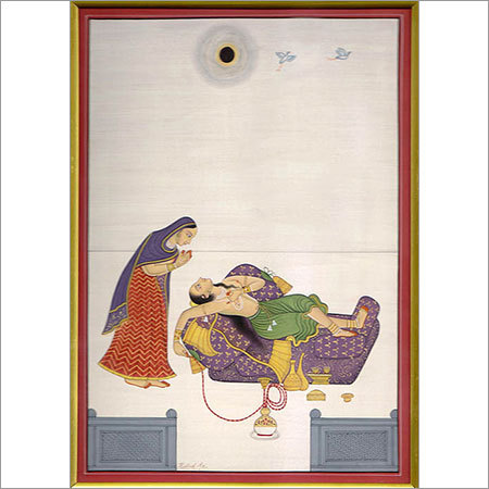The desperate Bundi painting