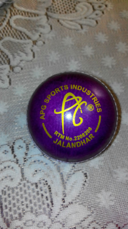 Promotional Purple Cricket Ball