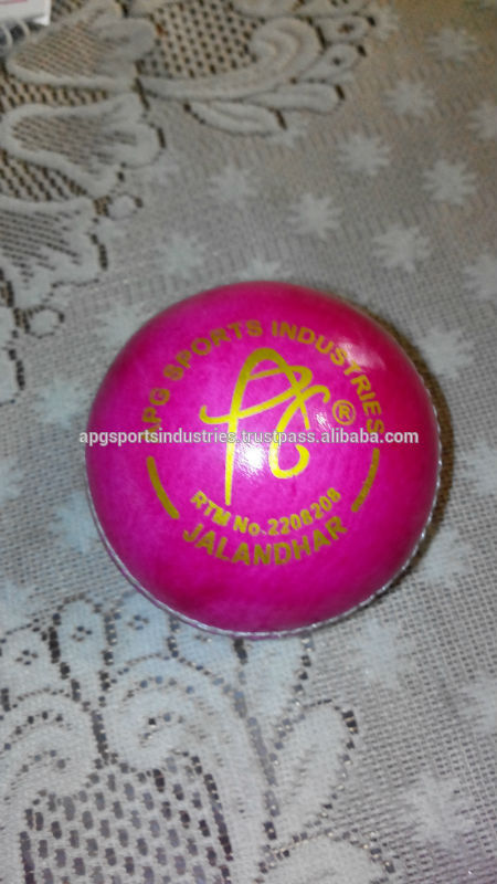 Pink Cricket Ball