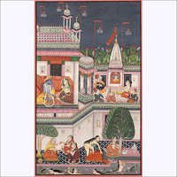 The month of  magha rajpu painting