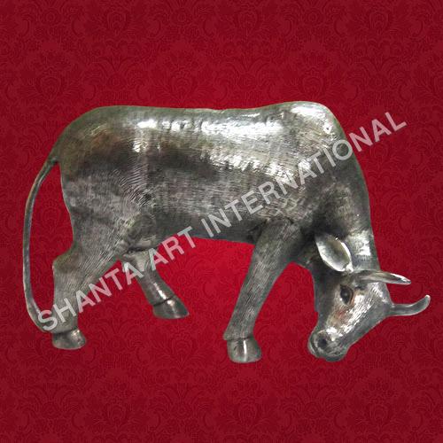 Handicrafts Metal Cow