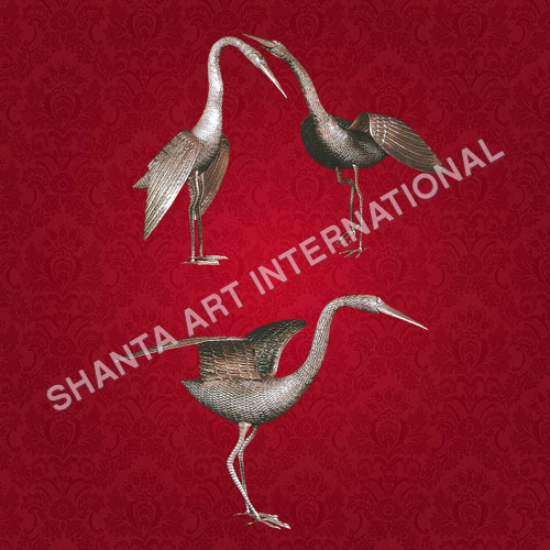 Metal Crane Bird