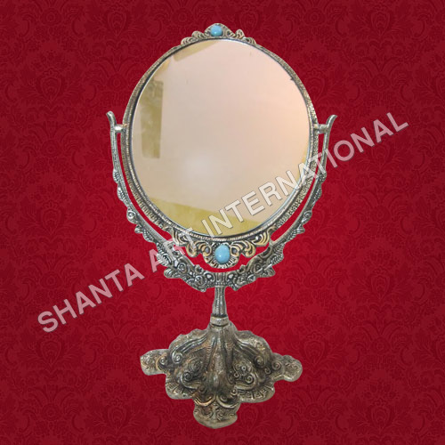 Decorative Silver Mirror Frame