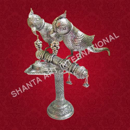 Silver Parrot Set