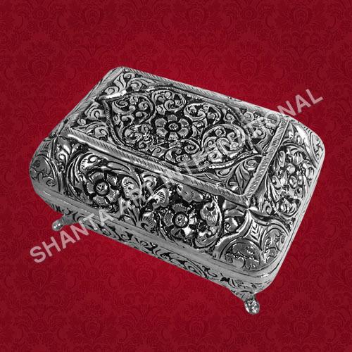 Silver Soap Case