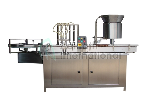 Vial Dry Injectable Filling Machine