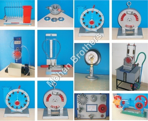 FLUID MECHANICS & HYDRAULIC MACHINES MODELS