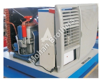 Window Air Conditioning (Actual Cut Section)