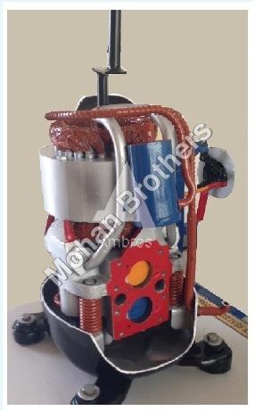 Reciprocating Compressor (Actual Cut Section)