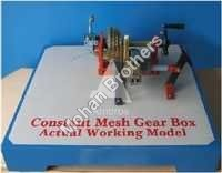 Constant Mesh Gearbox Section Model