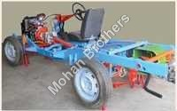 Car Chassis Rear Wheel Drive Actual Cut Section