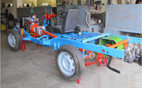 Car Chassis All Wheel Drive Actual Cut Section
