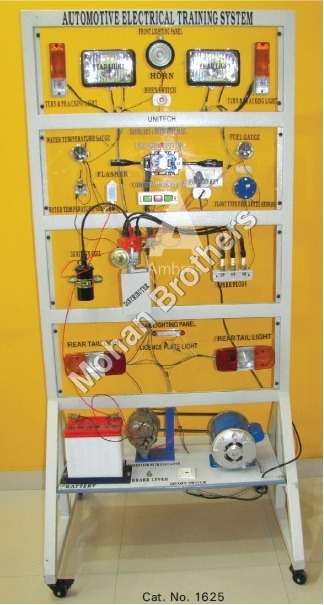 Electrical System of a Car Trainer