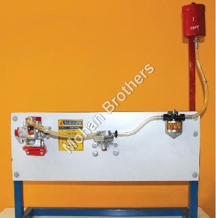 Petrol Engine Fuel Supply System Trainer