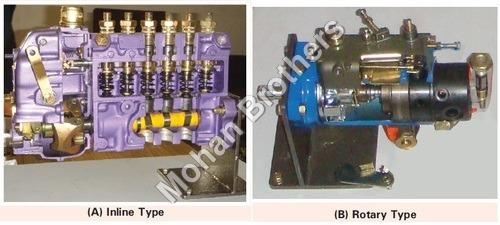 Diesel Fuel Pump Section Model