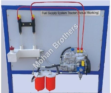 4 Cylinder Diesel Engine Fuel Supply System Traine