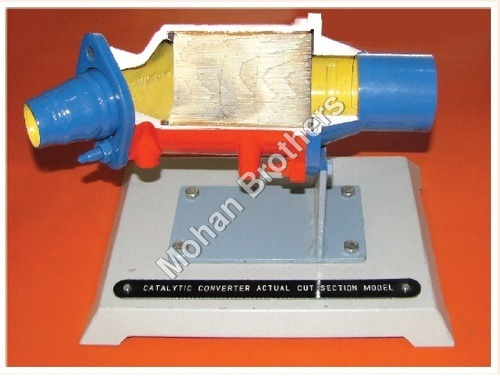 Catalytic Converter Section Model