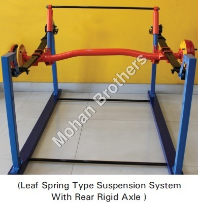 Rear Suspension System