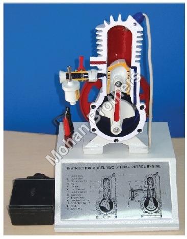 2 Stroke Petrol Engine Working Model