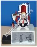 2 Stroke Petrol Engine - Sectional Working Model