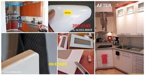 German self-adhesive foil for Kichen Shelf
