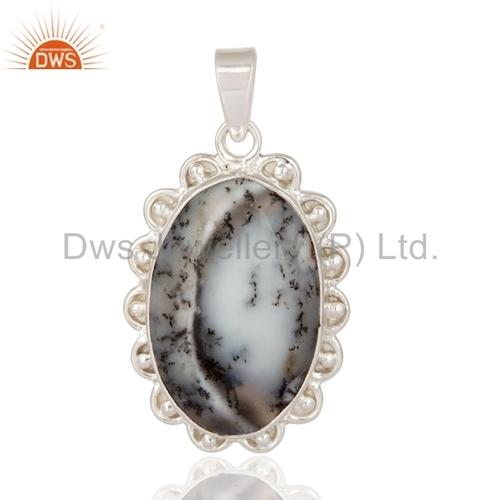 Opal Gemstone Designer Silver Pendant