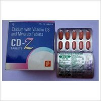 Calcium with Vitamin D3 and Minerals Tablets